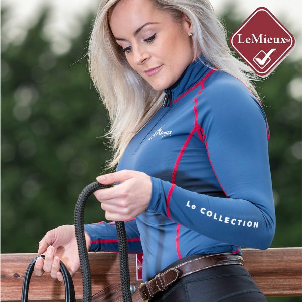 Le Mieux Base Layer Navy Red