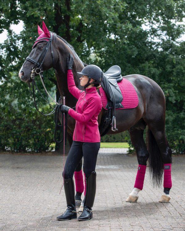 Le Mieux Pro Sport Dressage Suede Saddle Pad
